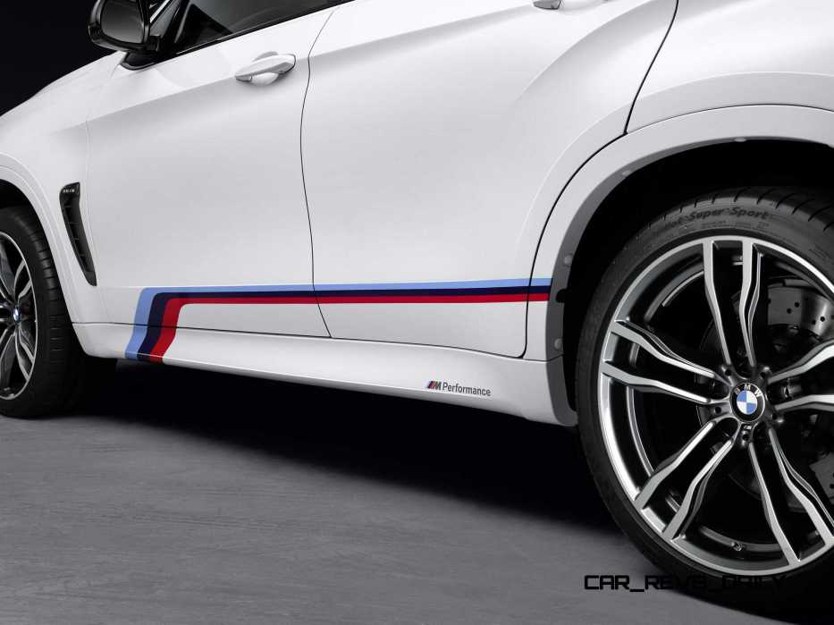 BMW M Performance Parts for 2015 X5M and X6M 14