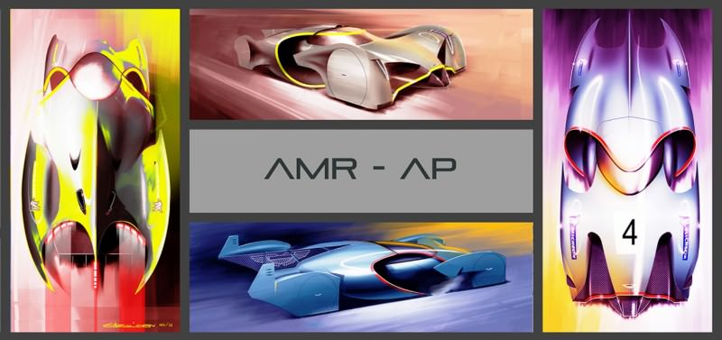 Ege Argüden 2035 Aston Martin AMR-AP LeMans Racer 13