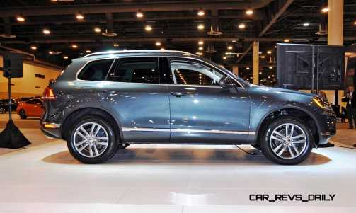 First Drive Review - 2015 Volkswagen Touareg TDI Feels Light, Quick and Lux 10