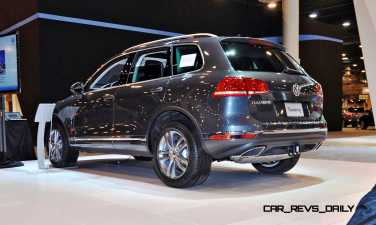 First Drive Review - 2015 Volkswagen Touareg TDI Feels Light, Quick and Lux 4