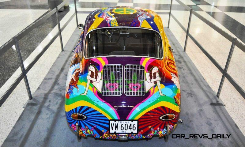 Houston Auto Show Curio - Porsche 356 Art Car Is Janis Joplin Homage 4