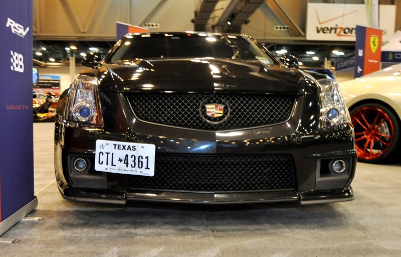 Houston Auto Show Tuners - RSV Forged Wheels, Hoosier Drag Mustang GT and ADV1 911 GT3 11