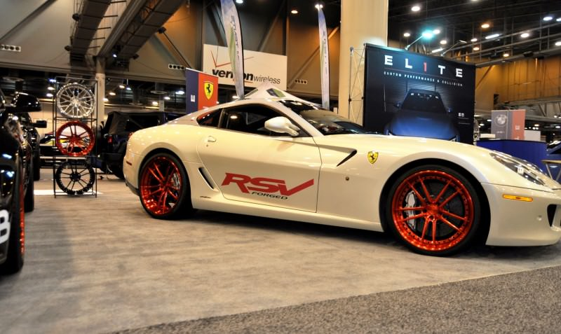 Houston Auto Show Tuners - RSV Forged Wheels, Hoosier Drag Mustang GT and ADV1 911 GT3 14