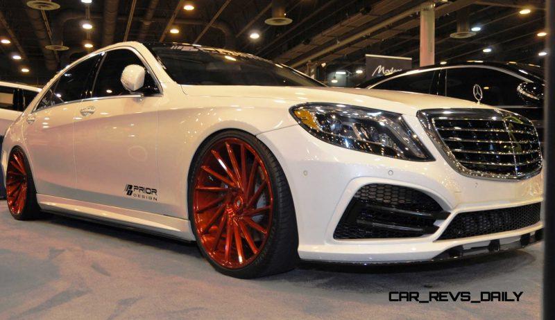 Houston Tuner Showcase - 2015 Mercedes-Benz S-Class by MODESTA Glass Coatings Ft. Prior Design Bodykits 2