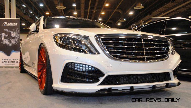 Houston Tuner Showcase - 2015 Mercedes-Benz S-Class by MODESTA Glass Coatings Ft. Prior Design Bodykits 3