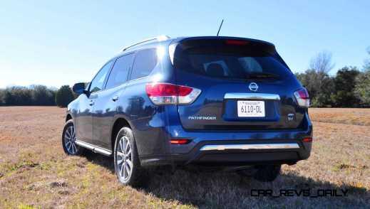 Road Test Review - 2015 Nissan Pathfinder SV 4WD 101