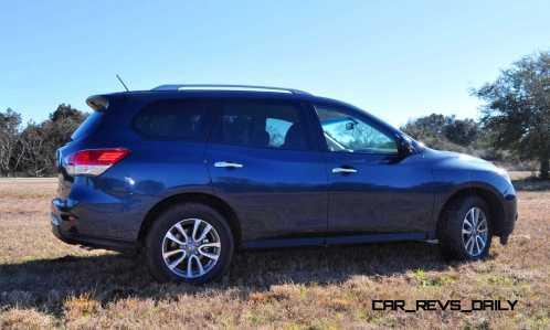 Road Test Review - 2015 Nissan Pathfinder SV 4WD 108