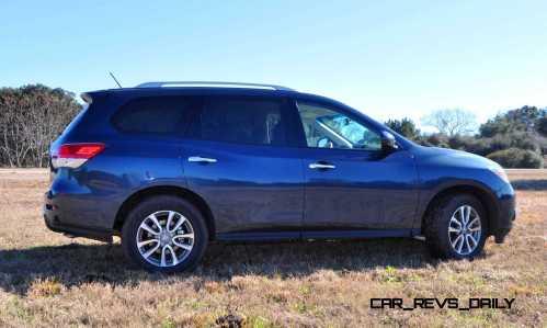 Road Test Review - 2015 Nissan Pathfinder SV 4WD 109