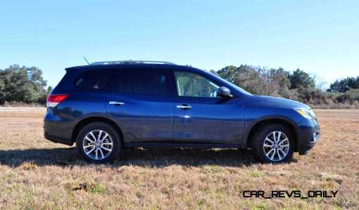 Road Test Review - 2015 Nissan Pathfinder SV 4WD 110