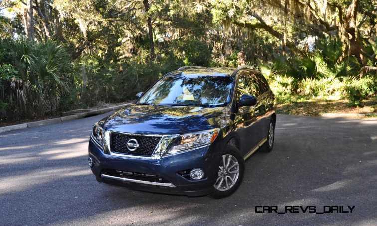 Road Test Review - 2015 Nissan Pathfinder SV 4WD 118