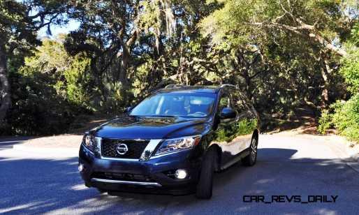 Road Test Review - 2015 Nissan Pathfinder SV 4WD 120