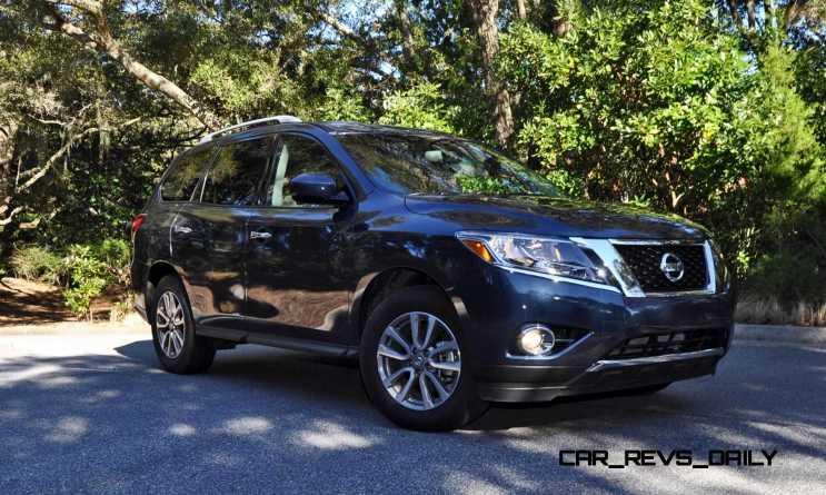 Road Test Review - 2015 Nissan Pathfinder SV 4WD 127
