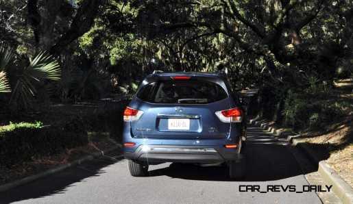 Road Test Review - 2015 Nissan Pathfinder SV 4WD 130