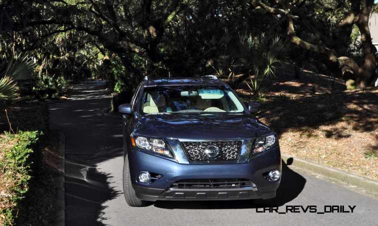 Road Test Review - 2015 Nissan Pathfinder SV 4WD 154
