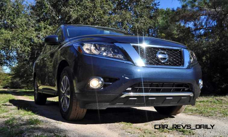 Road Test Review - 2015 Nissan Pathfinder SV 4WD 17