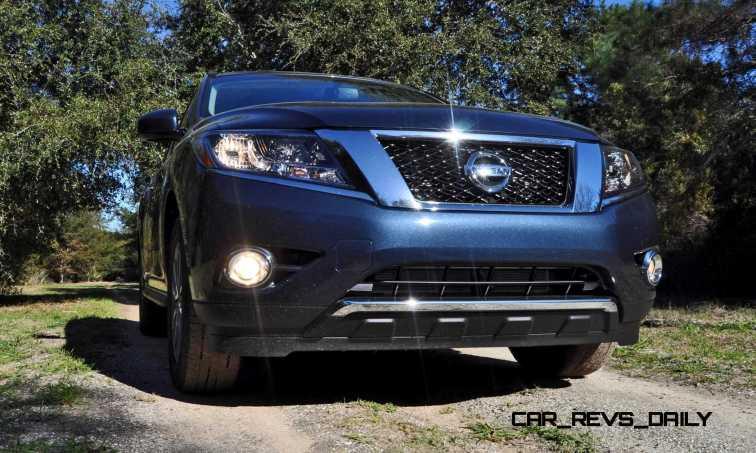 Road Test Review - 2015 Nissan Pathfinder SV 4WD 18