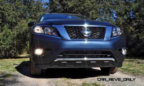 Road Test Review - 2015 Nissan Pathfinder SV 4WD 19