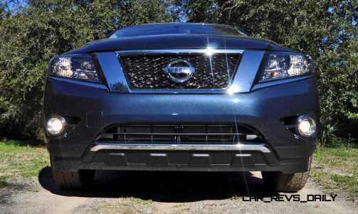 Road Test Review - 2015 Nissan Pathfinder SV 4WD 20