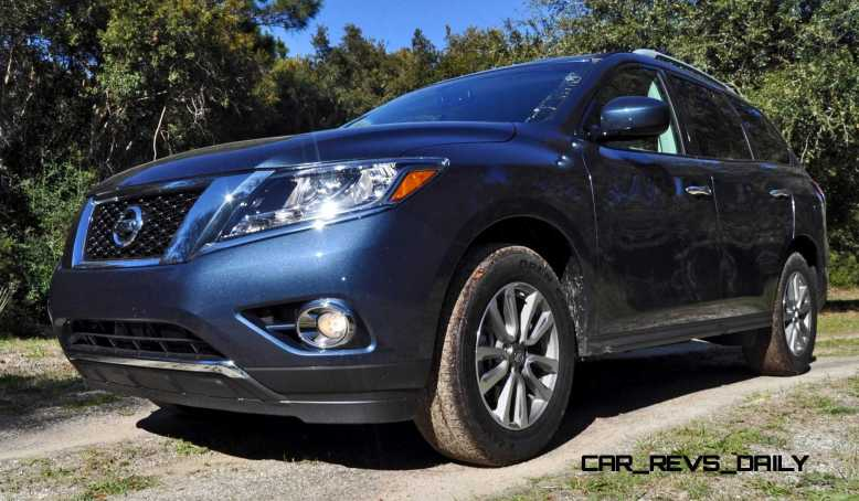Road Test Review - 2015 Nissan Pathfinder SV 4WD 23