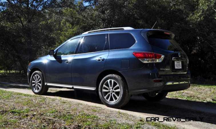 Road Test Review - 2015 Nissan Pathfinder SV 4WD 32