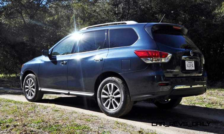 Road Test Review - 2015 Nissan Pathfinder SV 4WD 33