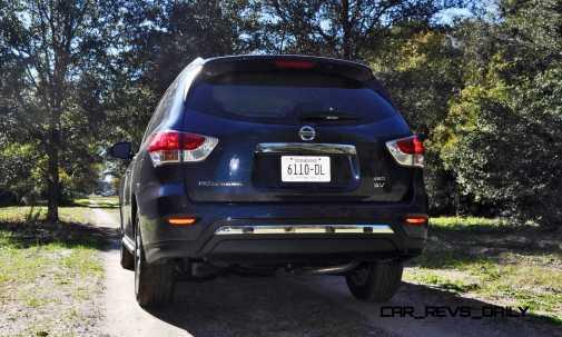 Road Test Review - 2015 Nissan Pathfinder SV 4WD 38