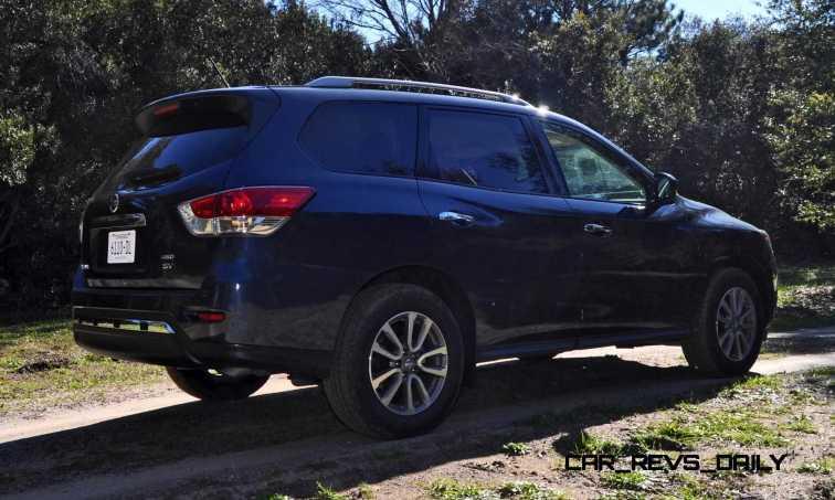 Road Test Review - 2015 Nissan Pathfinder SV 4WD 42
