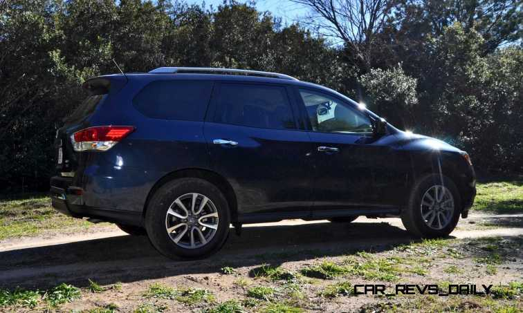 Road Test Review - 2015 Nissan Pathfinder SV 4WD 44