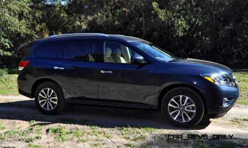 Road Test Review - 2015 Nissan Pathfinder SV 4WD 48