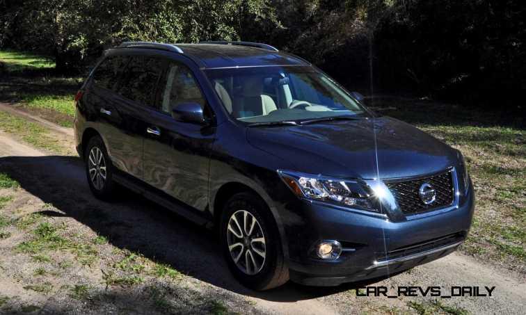 Road Test Review - 2015 Nissan Pathfinder SV 4WD 51