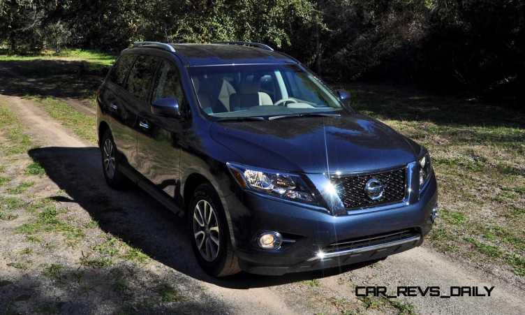 Road Test Review - 2015 Nissan Pathfinder SV 4WD 53