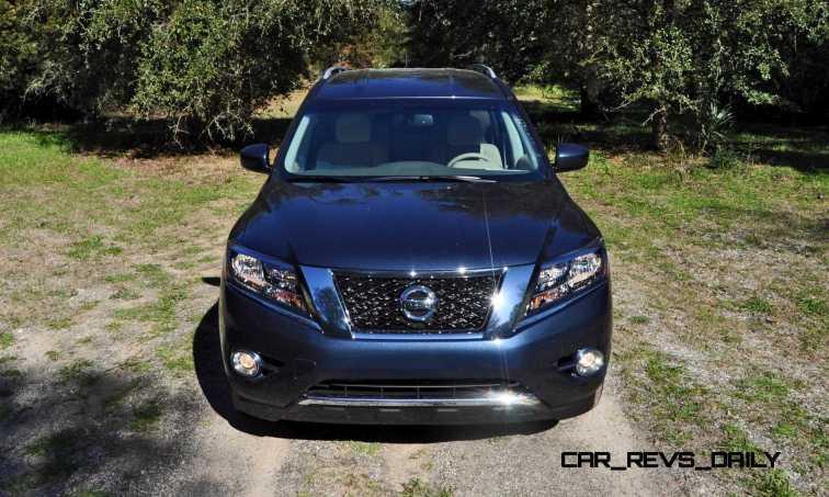 Road Test Review - 2015 Nissan Pathfinder SV 4WD 59