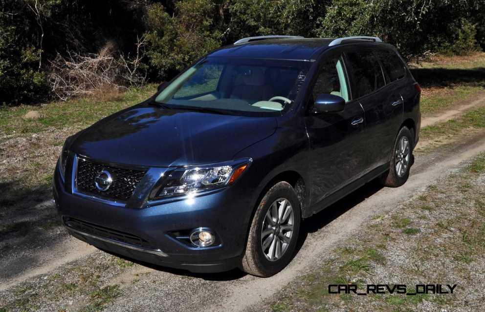 Road Test Review - 2015 Nissan Pathfinder SV 4WD 65
