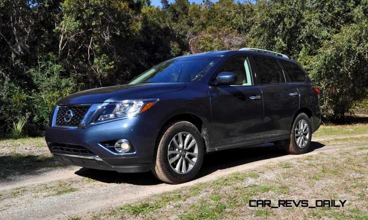 Road Test Review - 2015 Nissan Pathfinder SV 4WD 7
