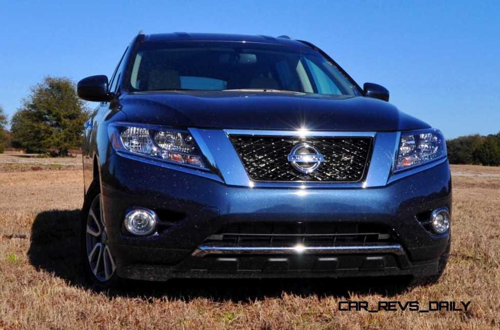 Road Test Review - 2015 Nissan Pathfinder SV 4WD 72
