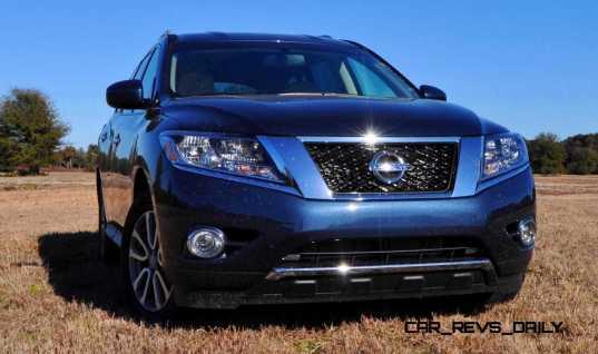 Road Test Review - 2015 Nissan Pathfinder SV 4WD 73
