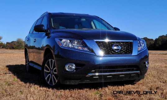 Road Test Review - 2015 Nissan Pathfinder SV 4WD 74