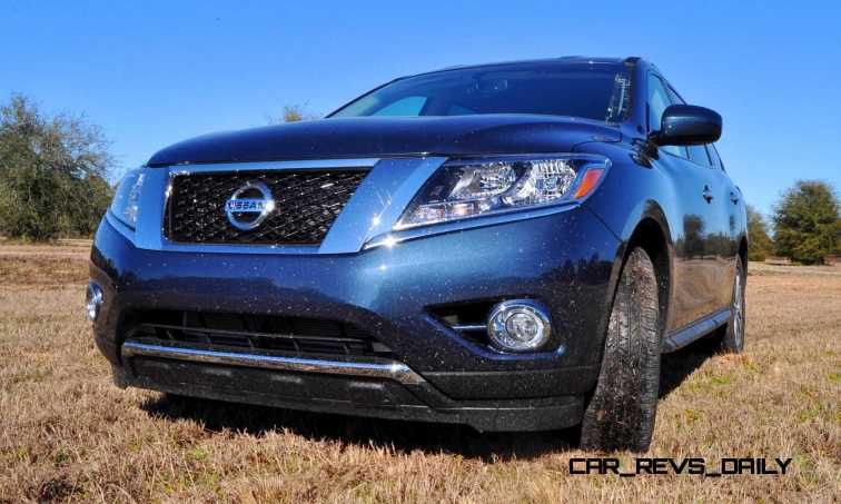 Road Test Review - 2015 Nissan Pathfinder SV 4WD 85
