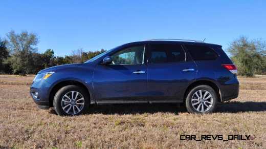 Road Test Review - 2015 Nissan Pathfinder SV 4WD 92