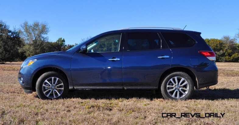 Road Test Review - 2015 Nissan Pathfinder SV 4WD 93