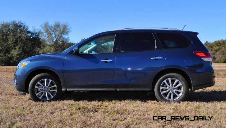Road Test Review - 2015 Nissan Pathfinder SV 4WD 94