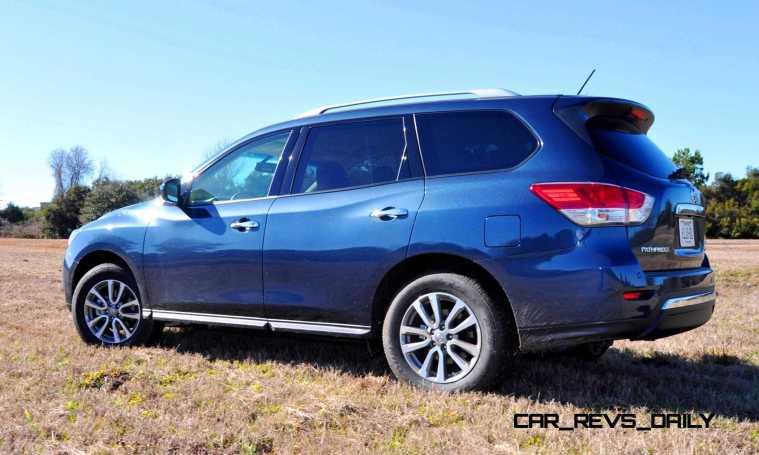 Road Test Review - 2015 Nissan Pathfinder SV 4WD 97