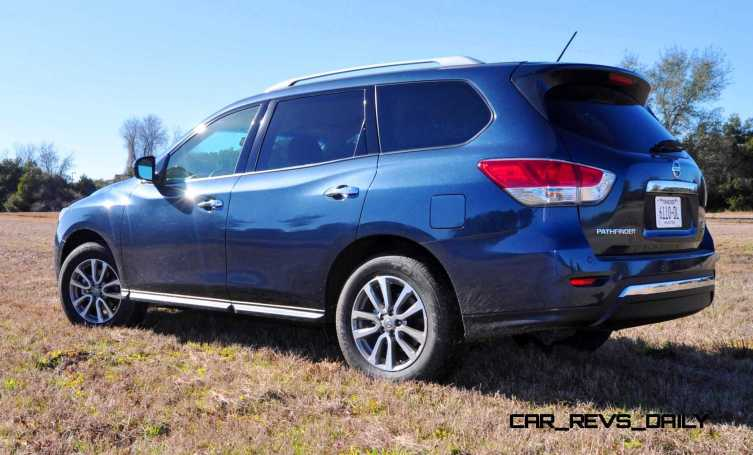 Road Test Review - 2015 Nissan Pathfinder SV 4WD 98