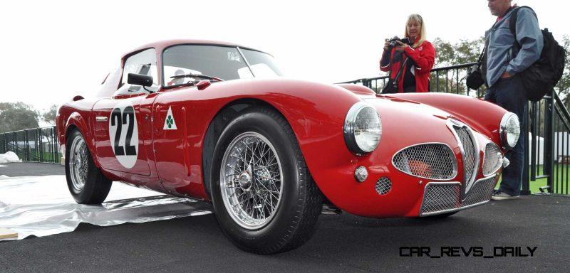 1953 Alfa Romeo 6C 3000CM Shows Origin of 2015 4C Nose Design 20