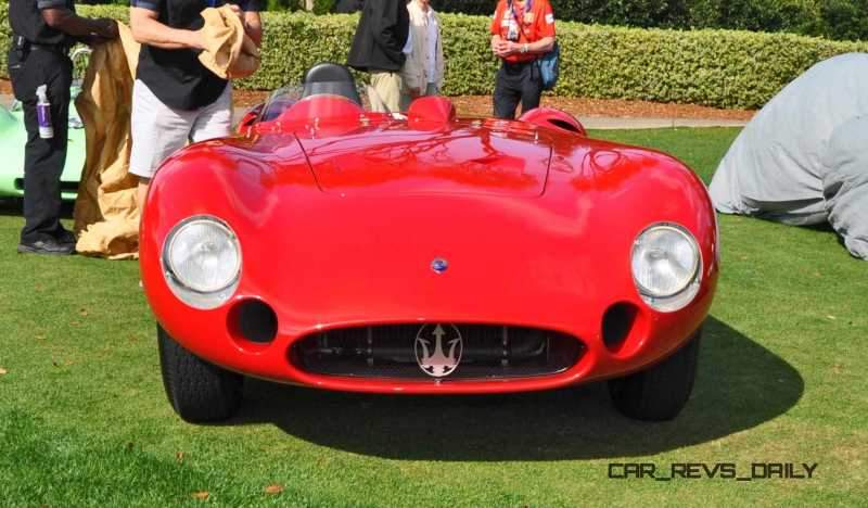 1956 Maserati 300S -  Amelia Island 2015 16