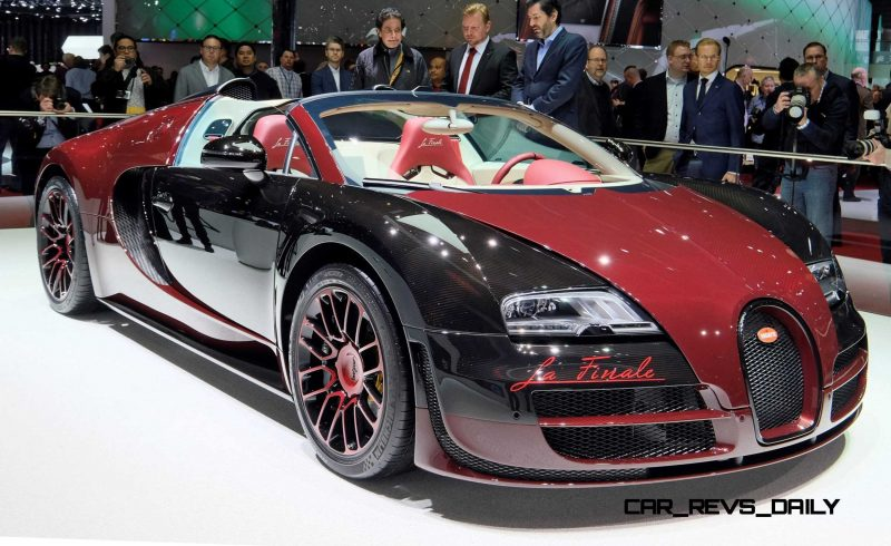 2015 Bugatti VEYRON FINALE 11