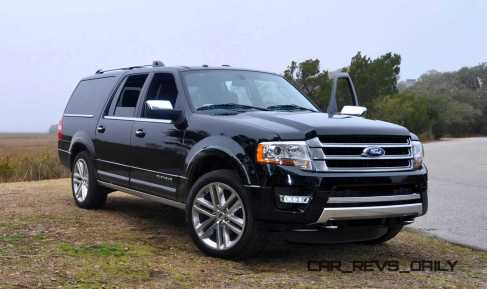 2015 Ford Expedition Platinum EL 55