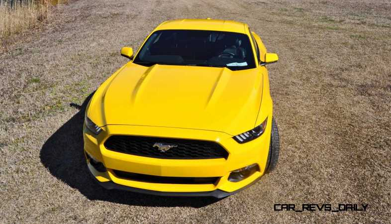 2015 Ford Mustang EcoBoost in Triple Yellow 58