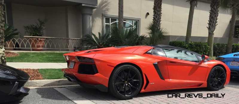 2015 Lamborghini Aventador Roadster  10