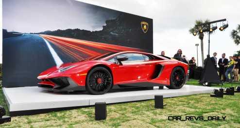 2015 Lamborghini Aventador SV USA Reveal 20